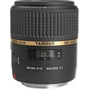 SP 60mm f/2 Di II 1:1 Macro Lens for Canon EF Product Image