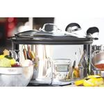 6.5 Qt. Slow Cooker with Black Ceramic Insert Product Image
