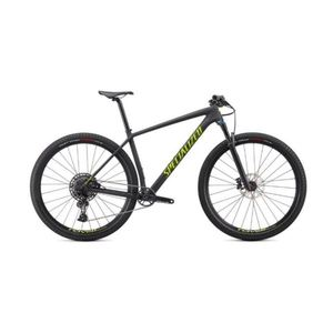 Epic Hardtail Comp Cross Country Mountain Bike - Satin Carbon/Hyper Green Product Image