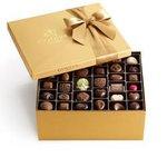 4 Lb. GODIVA® Assorted Chocolate Gold Gift Box Product Image