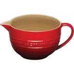 2qt Stoneware Batter Bowl Cerise Product Image