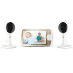 """Lux65 5"""" Full HD Wifi Video Baby Monitor Twin Set Product Image"""