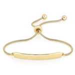 Bolo Bar Bracelet Yellow Gold Product Image