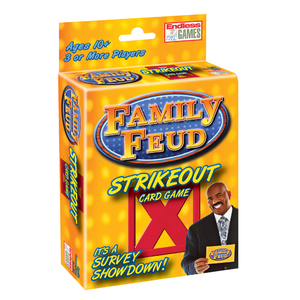 Family Feud Strike Out Card Game Ages 10+ Years Product Image