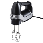 Professional 5 Speed Hand Mixer Black Product Image