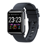 ECG + PPG Smart Sports Watch Black Sport Product Image