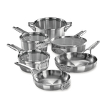 Premier Space Saving 10pc Stainless Steel Cookware Product Image