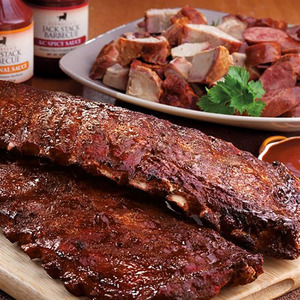 Real Kansas City Meat Lover Dinner KC BBQ Product Image