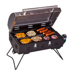 Stainless Steel Portable BBQ Grill Product Image