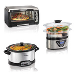 Toaster Oven/Slow Cooker/Food Steamer Product Image