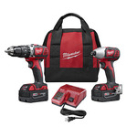 M18 2 Tool Combo Kit - Hammer Drill/Driver and Impact Driver Product Image