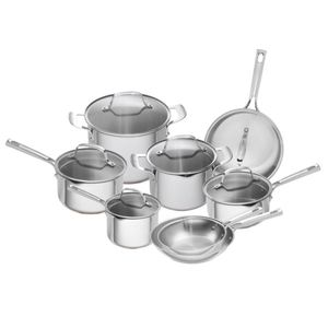 Copper-Core Stainless Steel 14-Piece Cookware Set Product Image