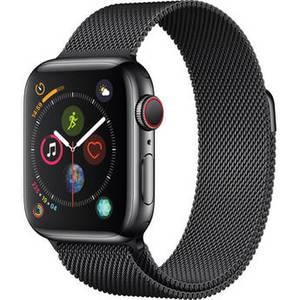 Watch Series 4 (GPS + Cellular, 40mm, Space Black Stainless Steel, Space Black Milanese Loop) Product Image