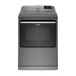 Smart Capable 7.4 Cu Ft Top Loading Electric Dryer Metallic Slate Product Image