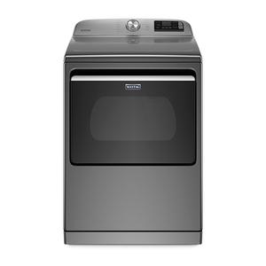 Smart Capable 7.4 Cu Ft Top Loading Electric Dryer Metallic Slate Product Image