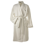 White Cotton Robe Size L/XL Product Image