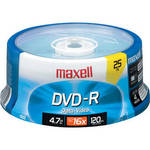 DVD-R 16x Disc (25) Product Image