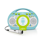 Tabeoke Portable Karaoke System Blue/Green Product Image