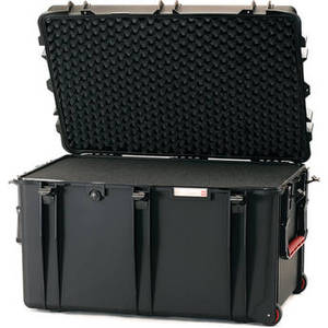 2800WF Wheeled Trunk Case with Cubed Foam Interior (Black) Product Image