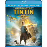 Adventures of Tintin 3d Combo Pack Product Image