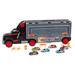 Semi Truck Carry Case with Vehicles Product Image