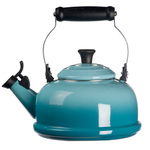 1.7qt Enamel on Steel Classic Whistling Kettle Caribbean Product Image