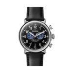 Shinola The Runwell Chrono Leather Strap Watch Product Image