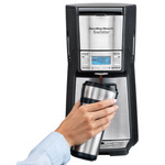 BrewStation 12 Cup Programmable Coffeemaker Black/Stainless Product Image