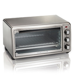 Stainless Steel 6-Slice Toaster Oven Product Image