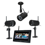 ObserverHD Full HD In/Out Surveillance w/ 3 Cameras Product Image