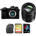 Lumix DC-G9 Mirrorless Micro Four Thirds Digital Camera with 12-35mm Lens and Accessories Kit Product Image