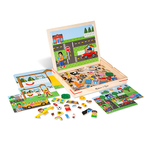 Magnetic Matching Picture Game Ages 3+ Years