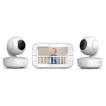 "5"" Portable Video Baby Monitor 2 Pack Product Image"
