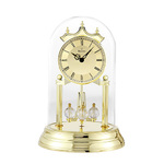 Tristan I Anniversary Clock Brass Polish Product Image