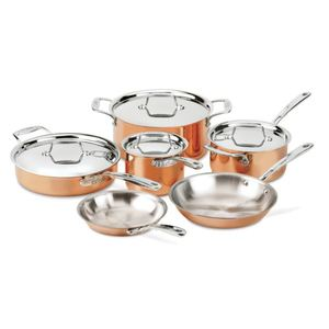 c4 Copper 10-Piece Cookware Set Product Image
