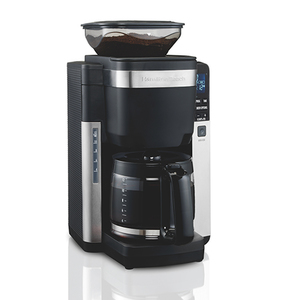 12-Cup Coffeemaker w/ Automatic Grounds Dispenser Product Image