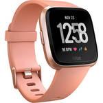 Versa Fitness Watch (Peach/Rose Gold Aluminum) Product Image