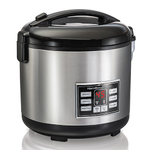 20 Cup Digital Rice Cooker & Hot Cereal Cooker Product Image