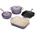 6pc Signature Cast Iron Cookware Set Provence Product Image