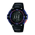 Mens Twin Sensor Temperature/Compass Sport Watch Black Product Image