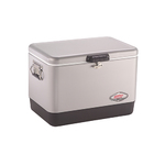 54 Qt Steel Belted Cooler Silver Product Image