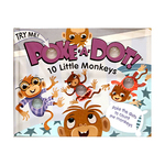 Poke-A-Dot: 10 Little Monkeys Book Ages 3+ Years Product Image