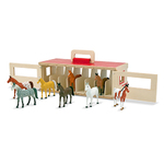 Take-Along Show-Horse Stable Play Set Ages 3-7 Years Product Image