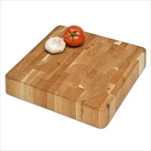 "Chunk End-Grain Cutting Board 12""x12""x2.5"" - Cherry Product Image"