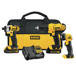 20V MAX 3 Tool Kit - Drill/Driver Impact Driver Worklight Product Image