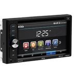 "Double DIN DVD Player w/ 6.2"" Touchscreen Product Image"
