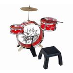 Kiddy Jazz Drum Set with Stool Product Image