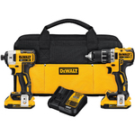 20V MAX XR Brushless Compact Drill & Impact Driver Combo Kit Product Image