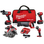 M18 Fuel 5-Tool Combo Kit Product Image