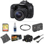 EOS 80D DSLR Camera with 18-55mm Lens Basic Kit Product Image